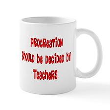 Retired Teacher Small Mug