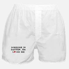 Someone in Dayton Boxer Shorts