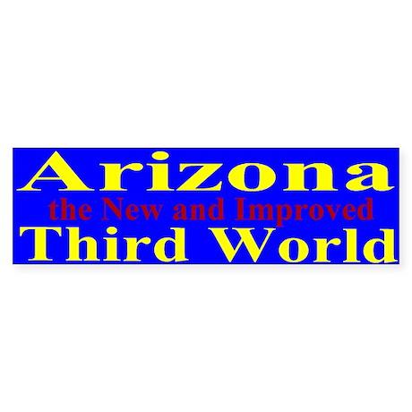 Arizona 3rd World Sticker (Bumper)