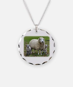 Sheep and Lambs 9R12D-35 Necklace