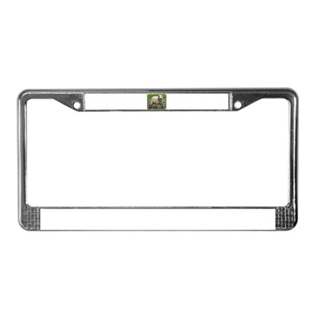 Sheep and Lambs 9R12D-35 License Plate Frame