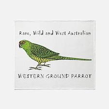 Cute Australian wildlife Throw Blanket