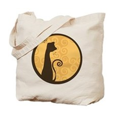 Whimsical Cat Tote Bag