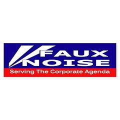 Fox News - Faux Noise Sticker (Bumper 50 pk)