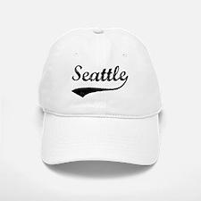 Vintage Seattle Baseball Baseball Cap