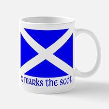 X Marks the Scot Mug