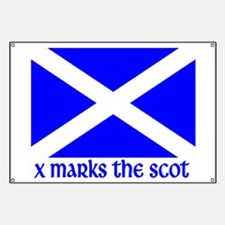 X Marks the Scot Banner
