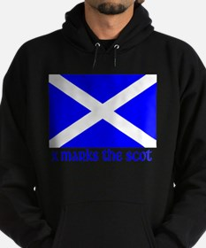 X Marks the Scot Hoodie