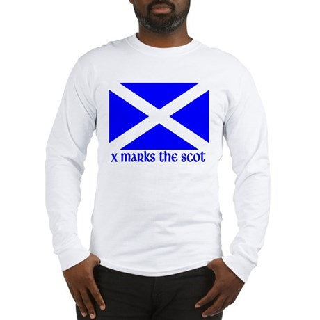 X Marks the Scot Long Sleeve T-Shirt