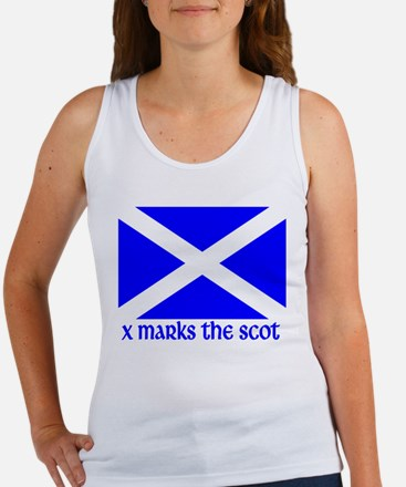 X Marks the Scot Women's Tank Top