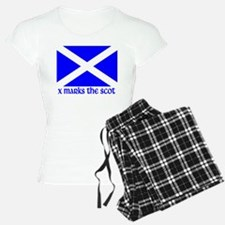 X Marks the Scot Pajamas