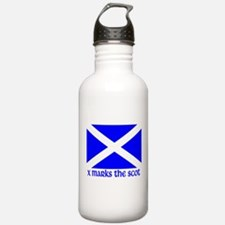 X Marks the Scot Water Bottle