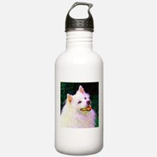 American Eskimo Dog Water Bottle