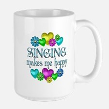 Singing Happiness Large Mug