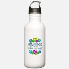 Singing Happiness Water Bottle