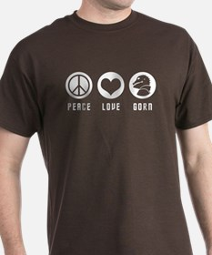 Peace Love Gorn T-Shirt