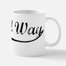 Vintage Federal Way Mug