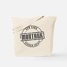 Montauk Title Tote Bag