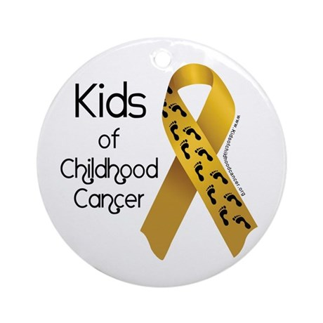 Kids of Childhood Cancer Ornament (Round)