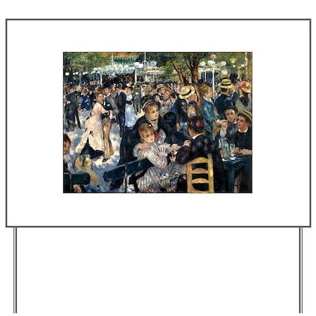 Renoir's Dance at Le moulin d Yard Sign