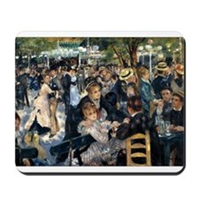 Renoir's Dance at Le moulin d Mousepad