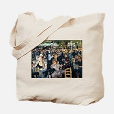 Renoir's Dance at Le moulin d Tote Bag