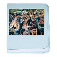Renoir's Dance at Le moulin d baby blanket