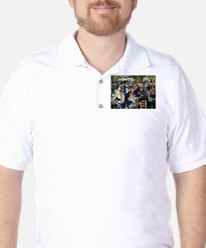 Renoir's Dance at Le moulin d Golf Shirt