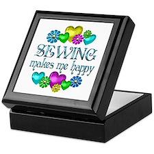 Sewing Happiness Keepsake Box
