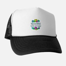 Sewing Happiness Trucker Hat