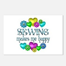 Sewing Happiness Postcards (Package of 8)