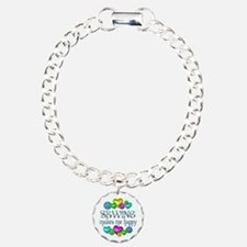 Sewing Happiness Bracelet