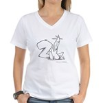 just bob Women's V-Neck T-Shirt