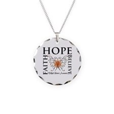 Hope Faith Multiple Sclerosis Necklace