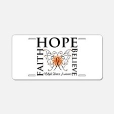 Hope Faith Multiple Sclerosis Aluminum License Pla