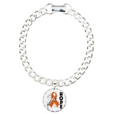 Hope Ribbon Multiple Sclerosis Bracelet