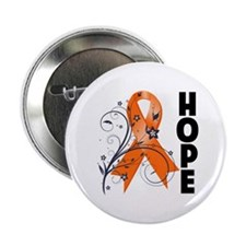 """Hope Ribbon Multiple Sclerosis 2.25"""" Button"""