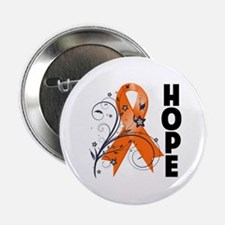 "Hope Ribbon Multiple Sclerosis 2.25"" Button"