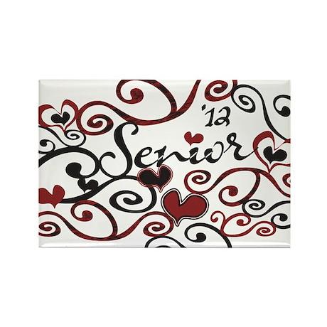 Senior '12 Whimsy Rectangle Magnet