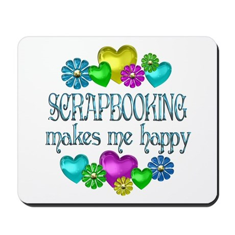Scrapbooking Mousepad