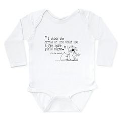 circle of life Long Sleeve Infant Bodysuit