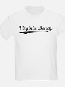 Vintage Virginia Beach Kids T-Shirt