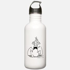 bob alarmed Water Bottle