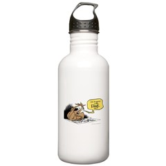 bob on the edge Water Bottle