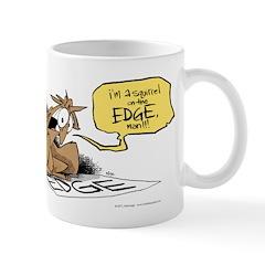 bob on the edge Mug