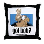 got bob Throw Pillow