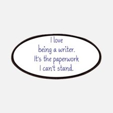 Being a Writer Patches