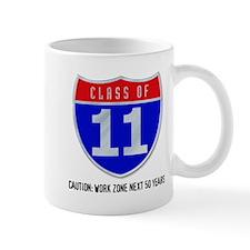 Class of 11 Road Sign Mug