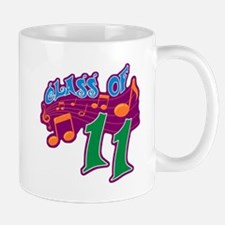 """Class of 11"" Musical Mug"