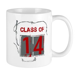 Class of 14 Barbed Wire Mug